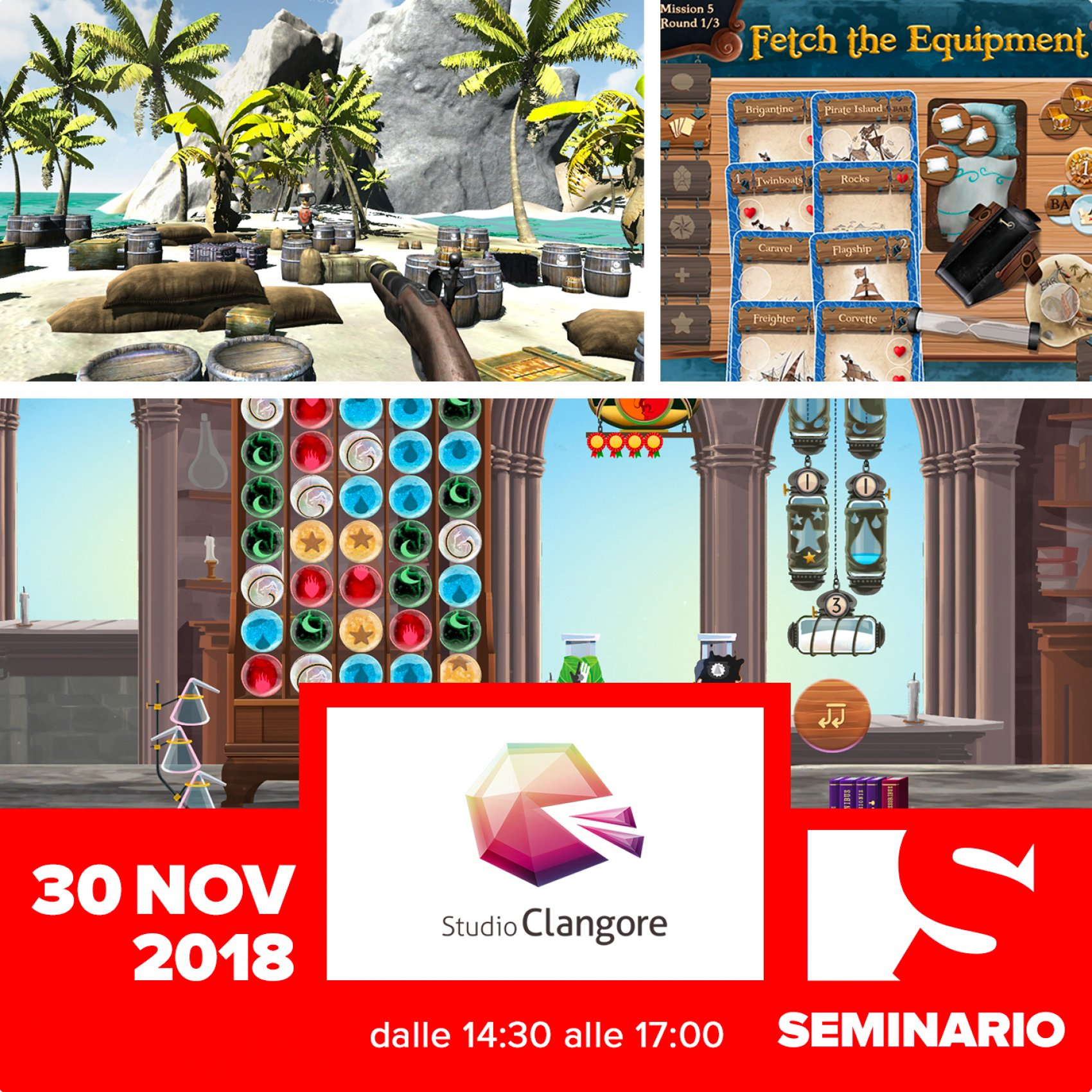 SEMINARIO – DARIO DEPONTI Wireframing your way out, or how User Experience can help game design!