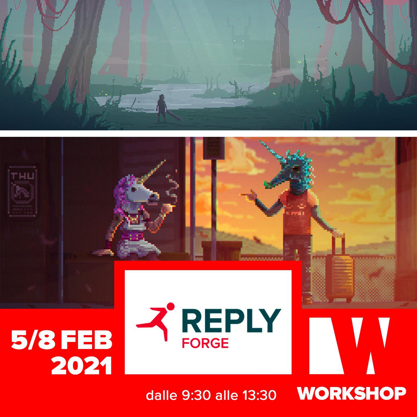 WORKSHOP – PIERFRANCESCO ANDRESINI <br> Pixel Art: a kick-start