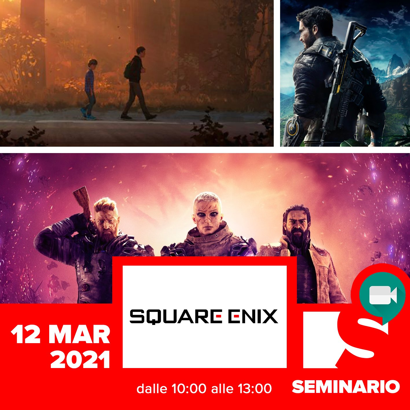 SEMINARIO – RACHELE DOIMO <br> It's not a game it's a journey